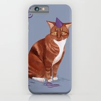 iPhone & iPod Case featuring Sad Cat by Maria