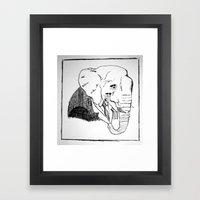 Pack You Trunk  Framed Art Print
