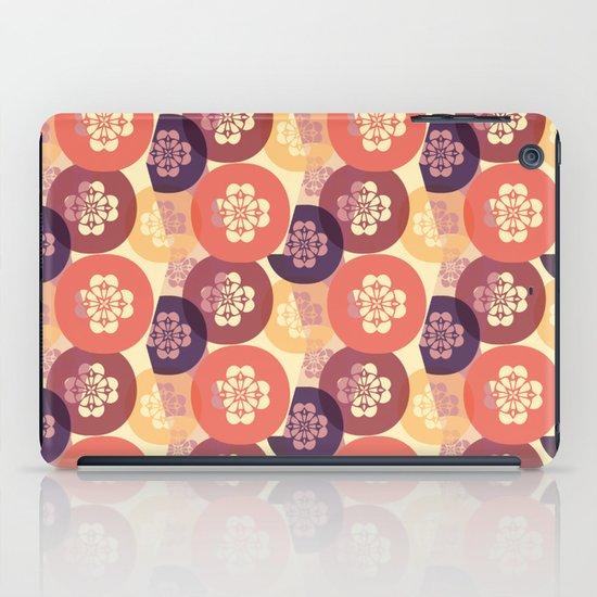 Floral Circles iPad Case