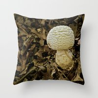 Fall Blooms Throw Pillow