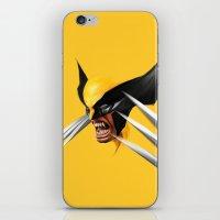 BLACK AND YELLOW iPhone & iPod Skin