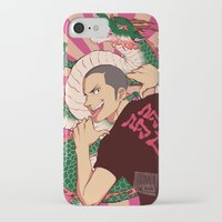 dragon iPhone & iPod Cases featuring dragon by JohannaTheMad