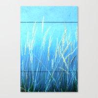 Blue Grass Canvas Print
