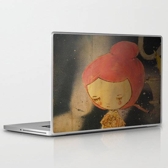Beautiful small things I found in Barcelona streets Laptop & iPad Skin