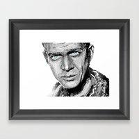 The King of Cool Framed Art Print