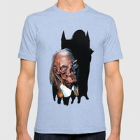 Crypt Keeper: Monster Madness Series Mens Fitted Tee Tri-Blue SMALL