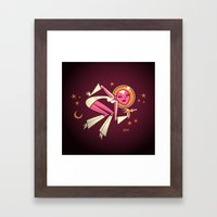 Space Velvet Framed Art Print