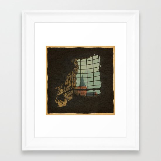From A Castle Framed Art Print