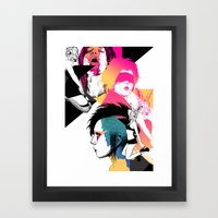Regret Framed Art Print