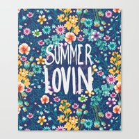 Summers Night Canvas Print