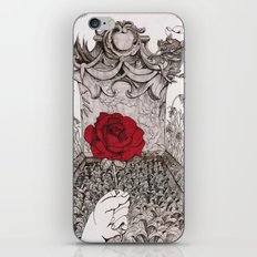 rose and grave iPhone & iPod Skin