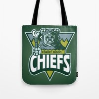 Forest Moon Chiefs - Gre… Tote Bag