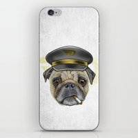 Pug Commander  iPhone & iPod Skin