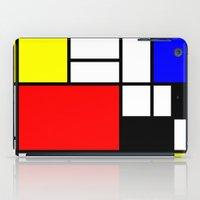 Mondrian Art iPad Case