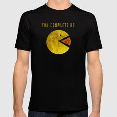 You Complete Me Mens Fitted Tee Black SMALL