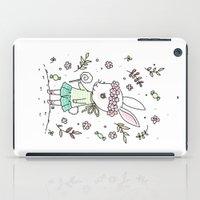 Summer Bunny iPad Case