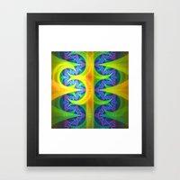 Bright Abstract Patterns… Framed Art Print