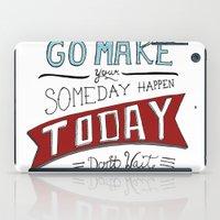 Go Make Today iPad Case