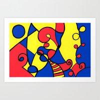 Print #12 Art Print