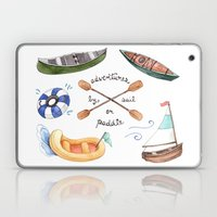 Adventures By Sail Or Pa… Laptop & iPad Skin