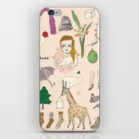paper doll iPhone & iPod Skin
