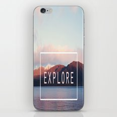 Explore. New Zealand iPhone & iPod Skin