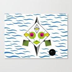 Postmodern Fish Canvas Print