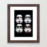 Kiss Troopers Framed Art Print