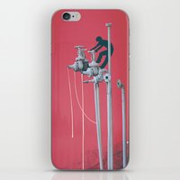 Drooling Machine iPhone & iPod Skin