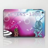 aliens iPad Case