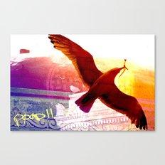 City Birds 01 Canvas Print
