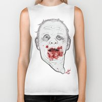 Ready when you are, Sergeant Pembry. // Silence of the Lambs Biker Tank