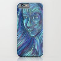 iPhone & iPod Case featuring frozen fire by Ricardo Patino