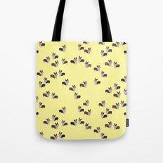 yellow corgis Tote Bag