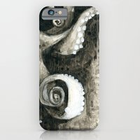 iPhone & iPod Case featuring Sea Monster by Dana Martin