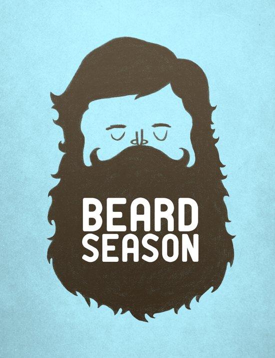 Beard Season Canvas Print