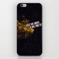A Melting Sky iPhone & iPod Skin