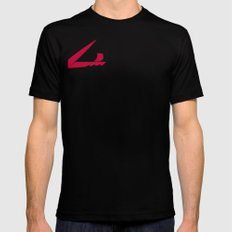 Scissorship Mens Fitted Tee Black SMALL