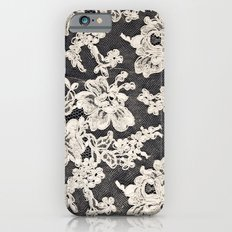 Black And White Lace- Ph… iPhone 6 Slim Case