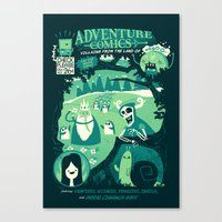 Adventure Comics Canvas Print