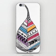 Aztec Leaf and Feathers iPhone & iPod Skin