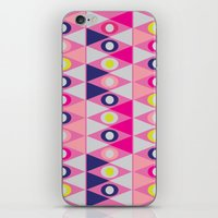 Triangles And Circles iPhone & iPod Skin