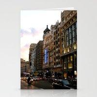Gran Vía - Madrid Stationery Cards