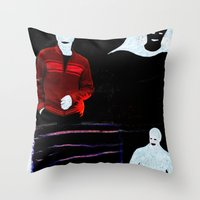 Communication misleading Throw Pillow