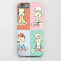 iPhone & iPod Case featuring Wes' Owens by Derek Eads