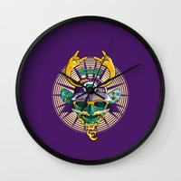 Urban Samurai Wall Clock