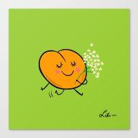 Apricot St Germain Canvas Print