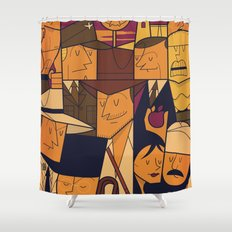Raiders of the Lost Ark Shower Curtain