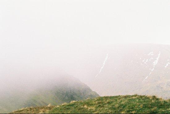 the Mist approaches Art Print