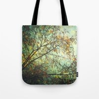 Magic In The Forest/ Gre… Tote Bag
